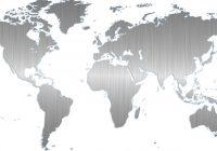 Wallstickers med verdenskort er både flotte  og informative
